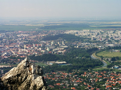 Panorama of Nitra from Mount Zobor
